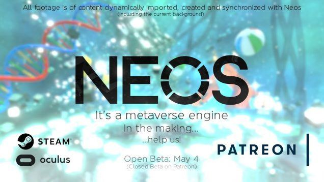 Neos VR Beta Announcement Trailer