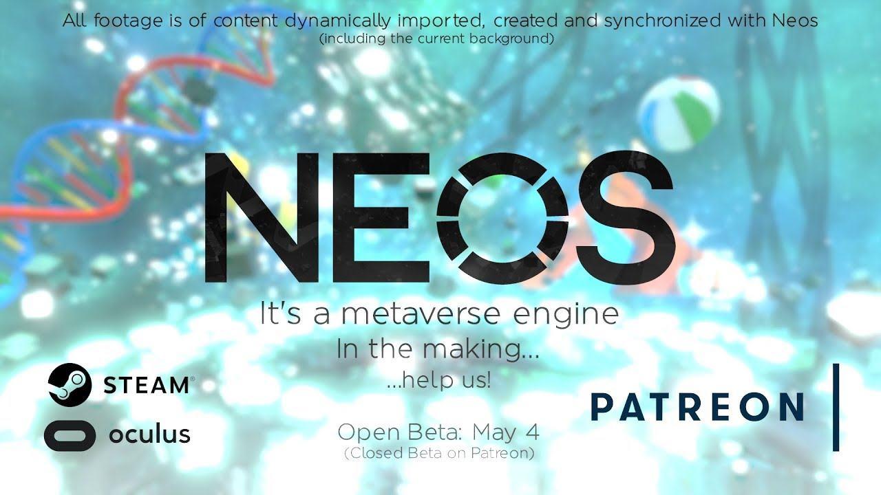 Neos VR Beta Announcement Trailer
