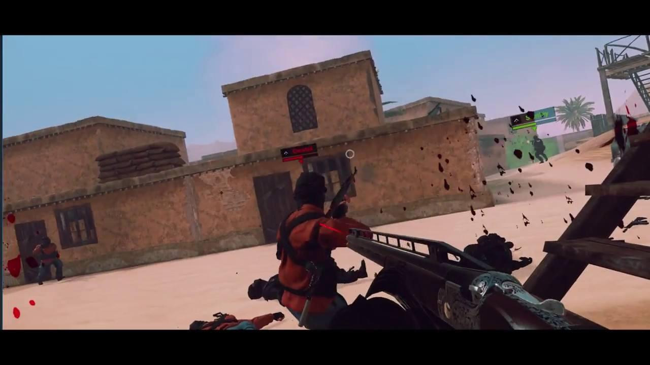 VR FPS Multiplayer Gameplay Trailer - Virtual Army: Revolution™
