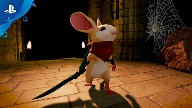 Moss – PlayStation VR Gameplay Announcement Trailer   E3 2017