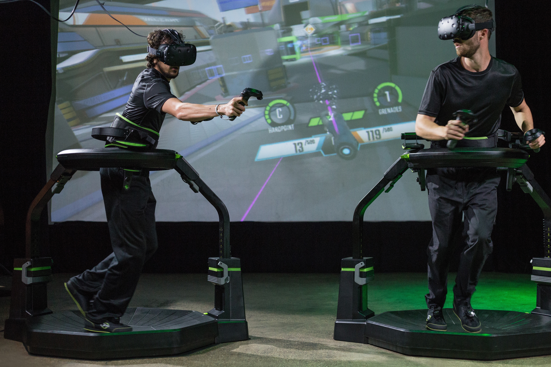 Virtuix Omni VR Location Based Entertainment Boasts One Million Plays