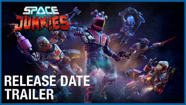 Space Junkies Virtual Reality Release Trailer
