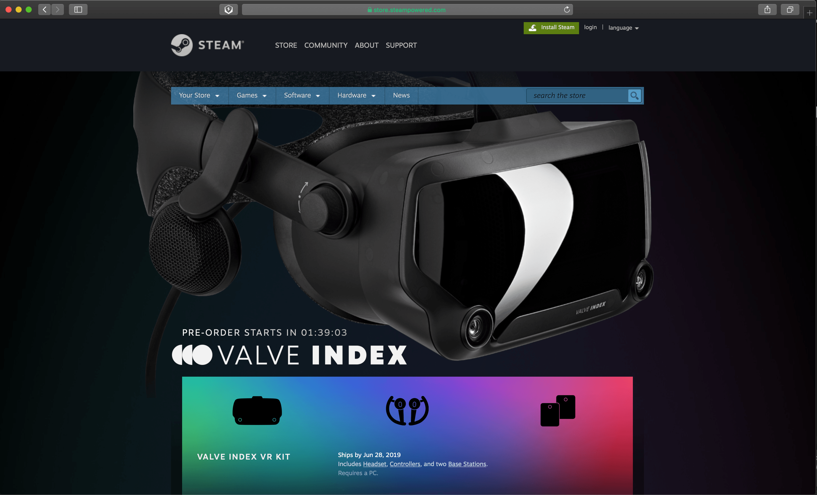 The Hype Is Real! Valve Index Specs Available and Preorder Today