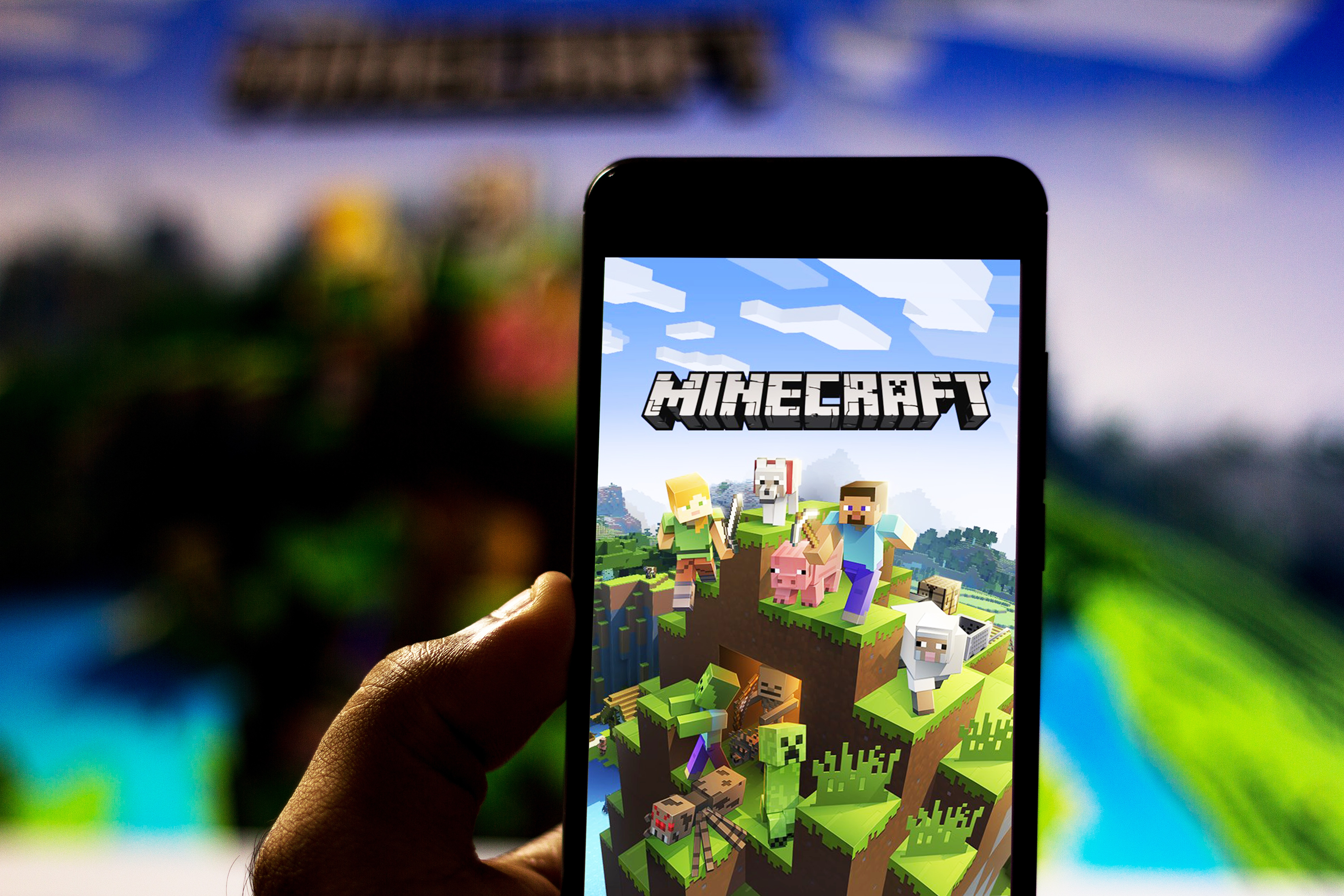 Microsoft Shows Off Augmented Reality Minecraft Game