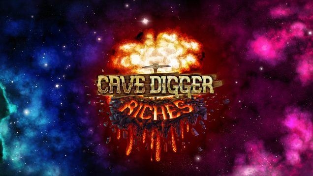 cave-digger-riches-logo-background