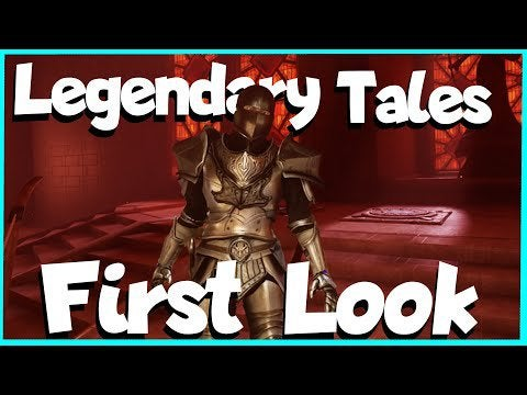 Legendary Tales VR gameplay First Look and Review   The Diablo of VR