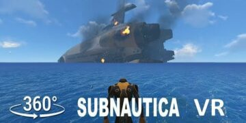 A very special Subnautica 360° VR gameplay video, it is almost too beautiful, enjoy!