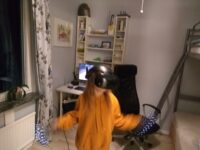 Just Introduced my sister into the world of VR!