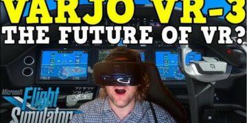 VARJO VR-3 RAW REACTION: HUMAN EYE VR CLARITY!