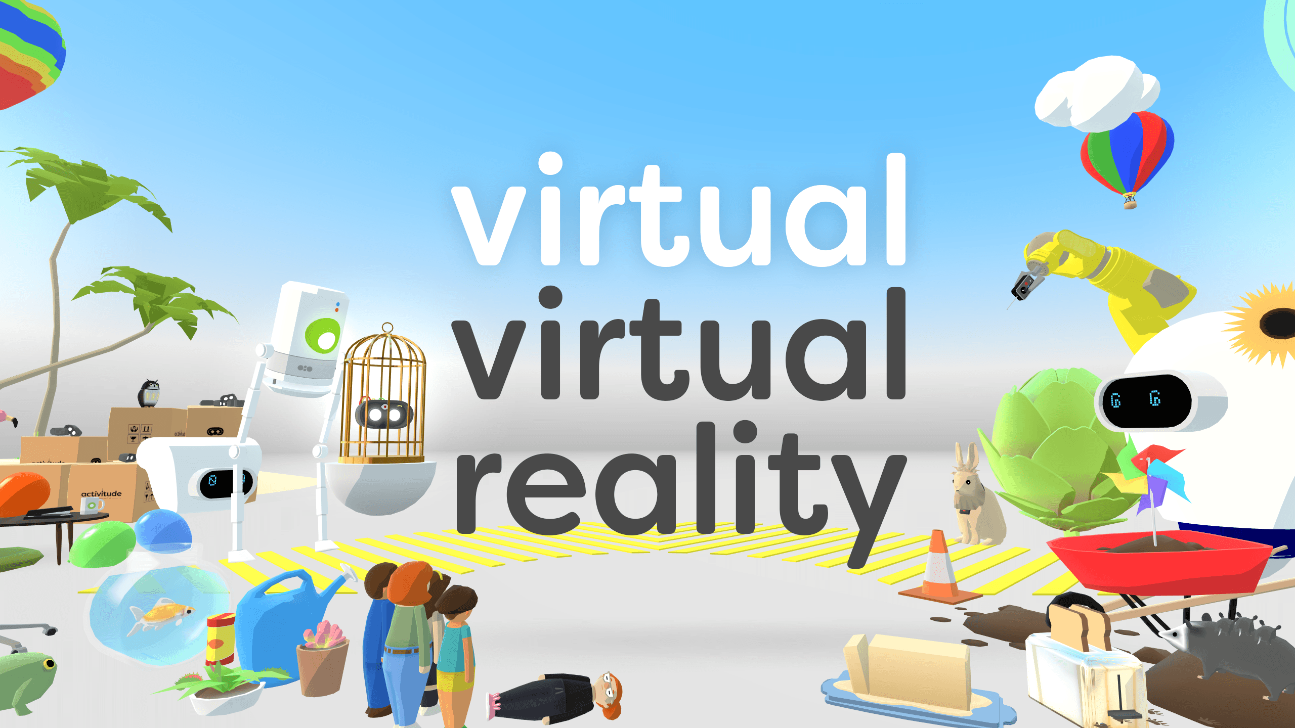 virtual-virtual-reality photo