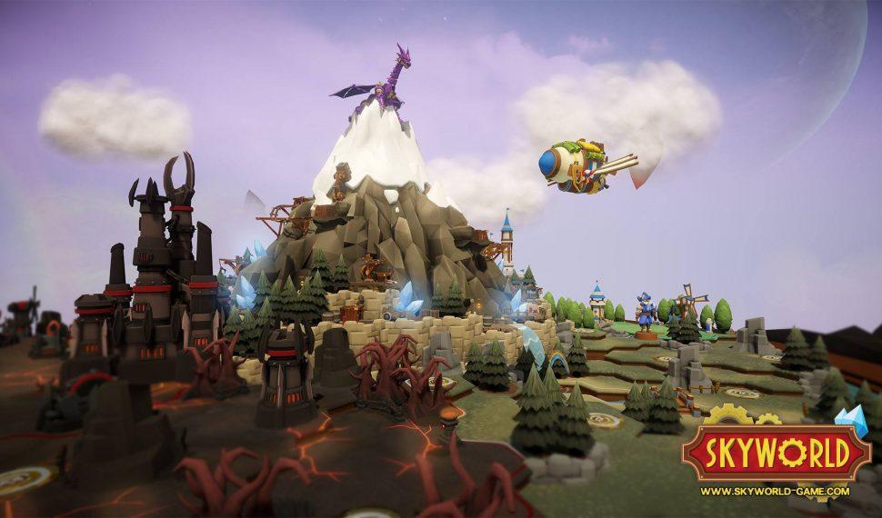 Oculus Rift Hit Skyworld Coming to PSVR